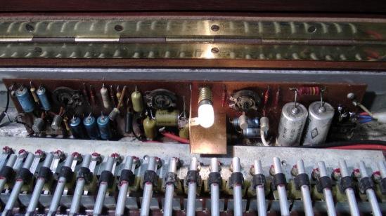 Pianet circuit before restoration